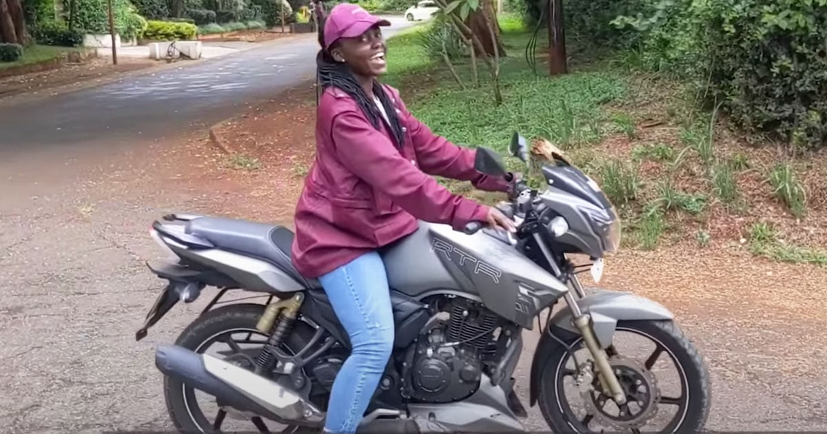 Enjoy This Pure Video of Lupita Nyong'o, YouTube's Newest Star, Riding a Motorcycle