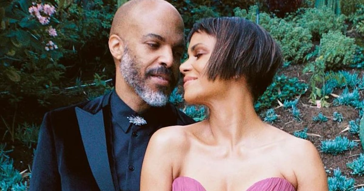 Excuse Us While We Swoon Over Halle Berry and Her Boyfriend's Red Carpet Debut