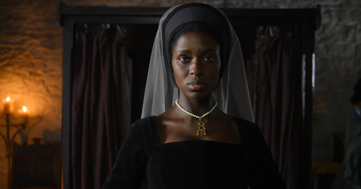 Here's Your First Look at Jodie Turner-Smith as Anne Boleyn in Channel 5's New Series