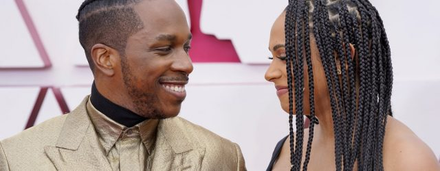 Leslie Odom Jr. and Nicolette Robinson Are the King and Queen of the Oscars