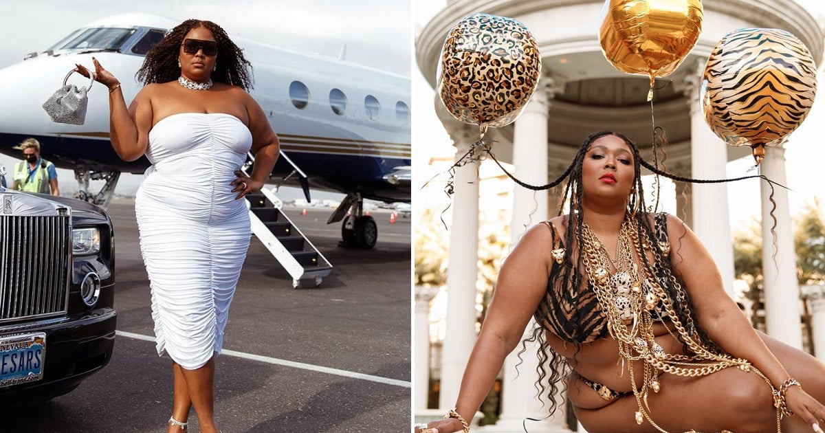 Lizzo's 33rd Birthday Celebration in Las Vegas Deserves to Be Plastered on a Mood Board