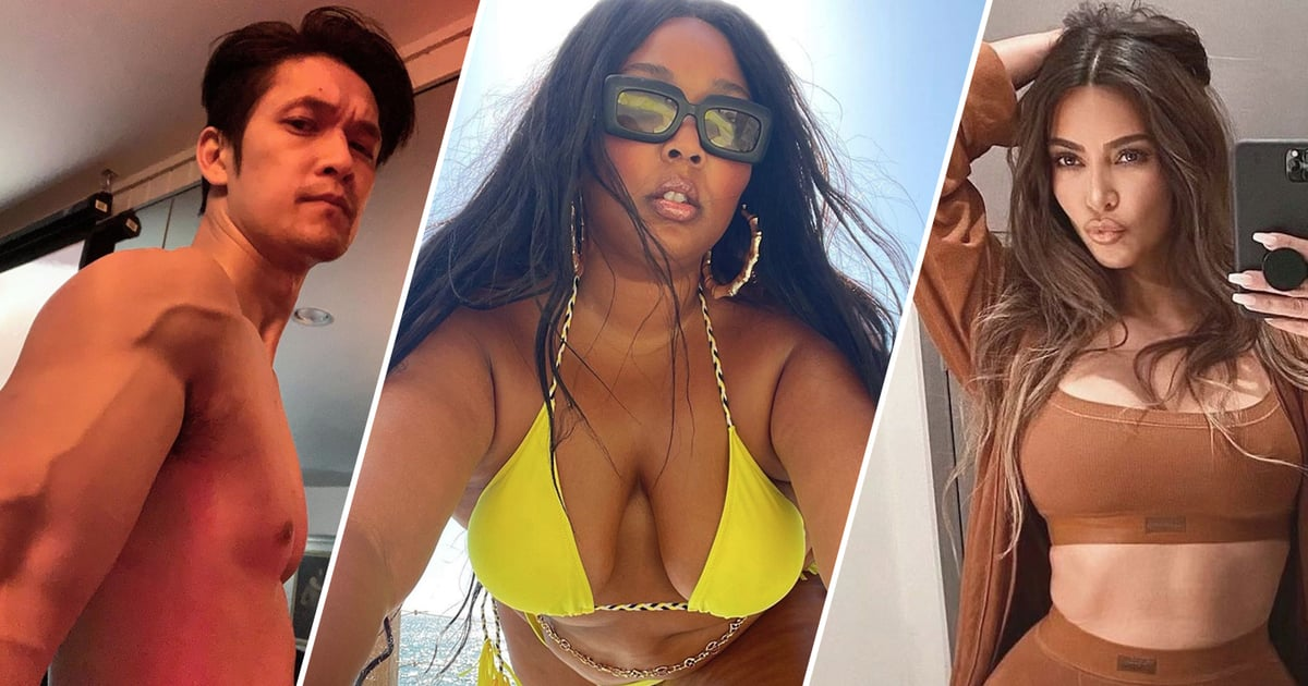 Quench Your Thirst With the Sexiest Celebrity Selfies of 2021 — So Far!