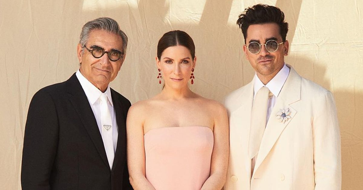 The Levys at the SAG Awards Reminds Us That Schitt's Creek Is Still a Family Affair