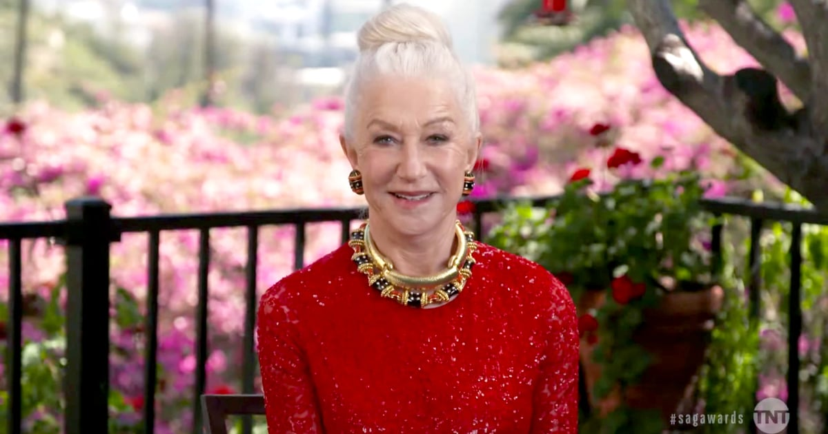 The SAG Awards Absolutely Made Me Want to Be Helen Mirren When I Grow Up
