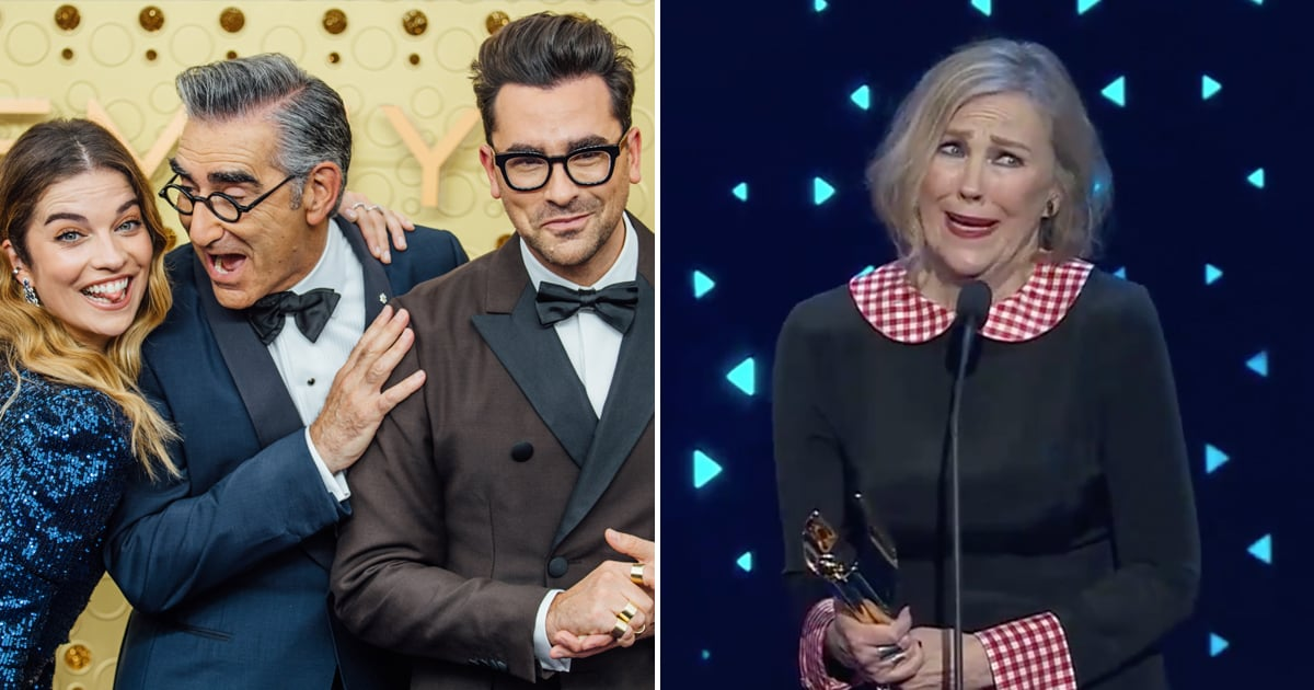 We Have the Schitt's Creek Cast to Thank For These 26 Heartwarming Award Season Moments