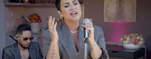 We're Completely Entranced by Demi Lovato's Tiny Desk Concert at Home