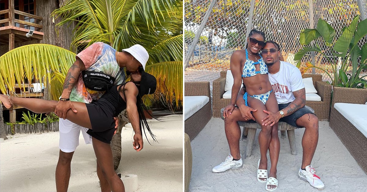 We're Flipping Out Over These Cute Pics of Simone Biles and Jonathan Owens