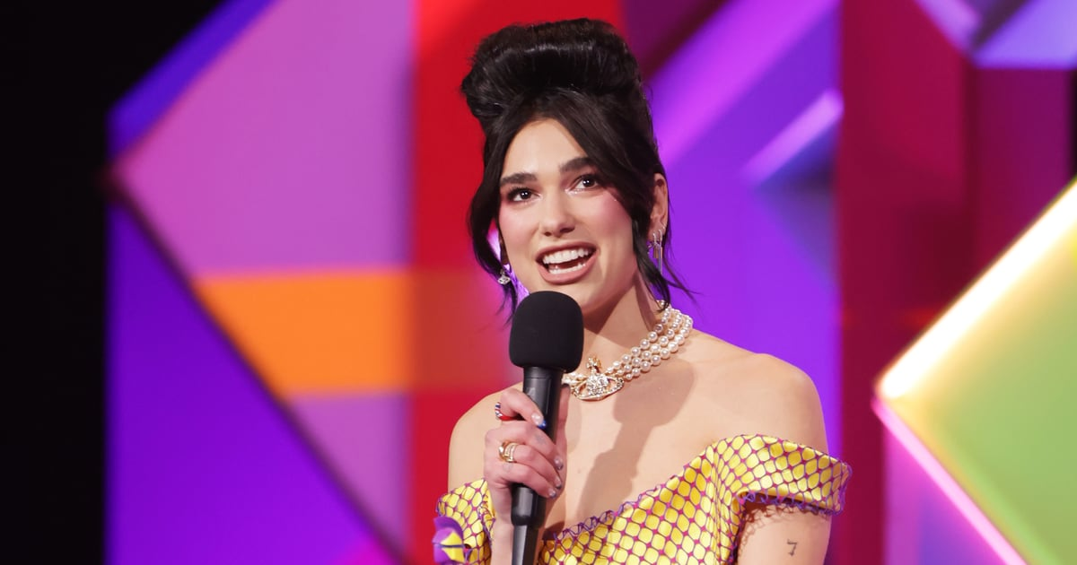 Dua Lipa Used Her BRIT Awards Speech to Call For an NHS Pay Rise From Boris Johnson