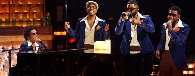 If You've Ever Wanted Silk Sonic to Serenade You, Watch Their iHeartRadio Awards Performance