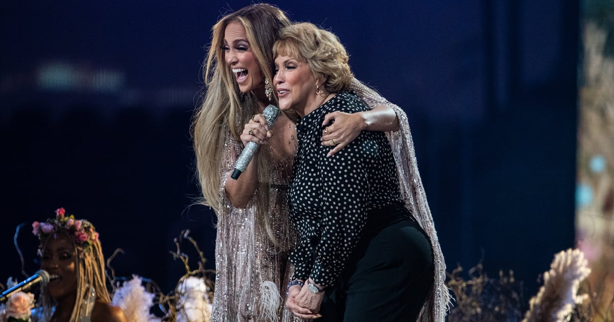 "Jennifer Lopez's Mom Joined Her on Stage to Sing ""Sweet Caroline"" With a Special Twist"