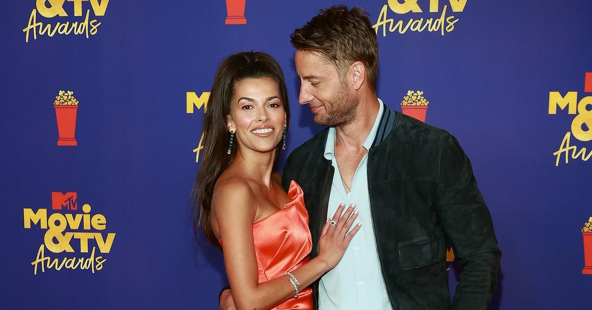 Justin Hartley and Sofia Pernas Make Their Red Carpet Debut at the MTV Movie & TV Awards