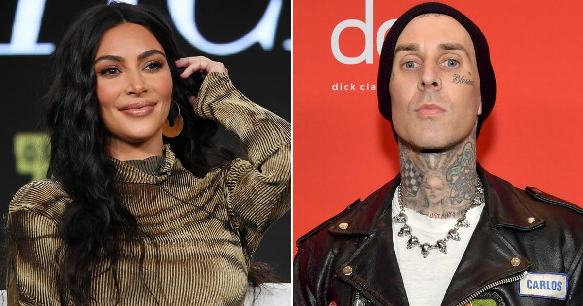 Kim Kardashian Sets the Record Straight on Those Travis Barker Hookup Rumors
