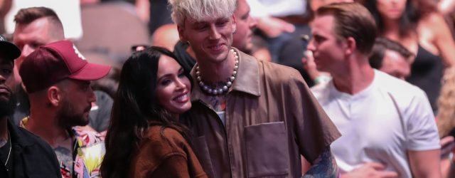 Machine Gun Kelly Just Marked a Special Milestone in His Relationship With Megan Fox