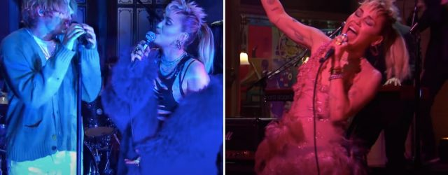 Miley Cyrus Gets Lost in the Music During SNL Performances, and So Will You