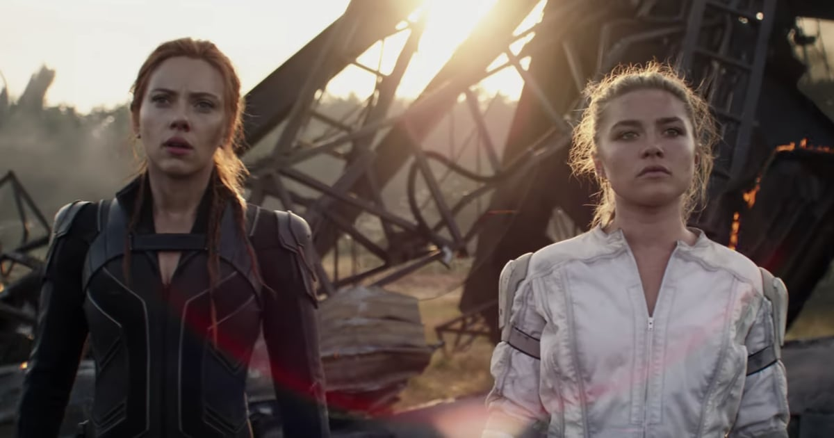 Scarlett Johansson and Florence Pugh Are Ready For Action in the Latest Black Widow Clip