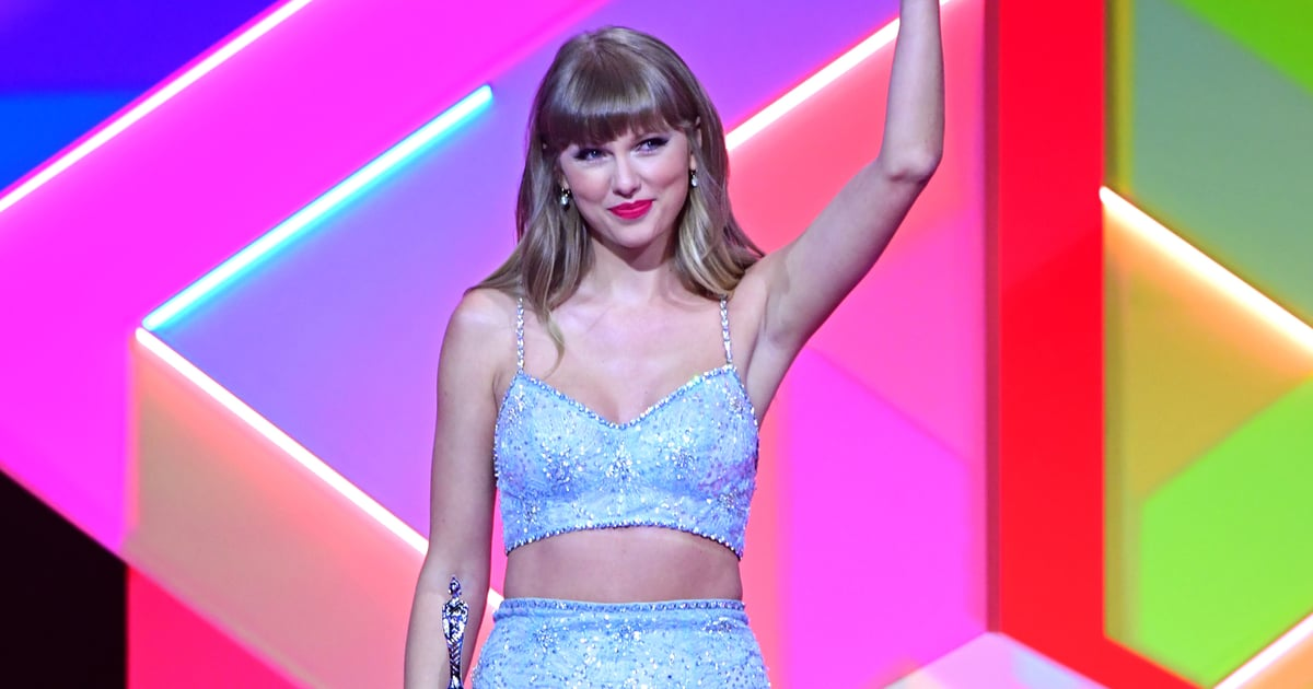 Taylor Swift Received the Global Icon Award at the BRITs and Had an Iconic Speech to Match