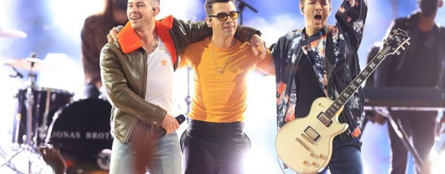 The Jonas Brothers' High-Energy BBMAs Number Has Me Dancing in My Living Room