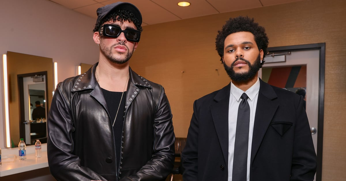 The Weeknd and Bad Bunny Met Up Backstage at the BBMAs, and Now We Want a Collab