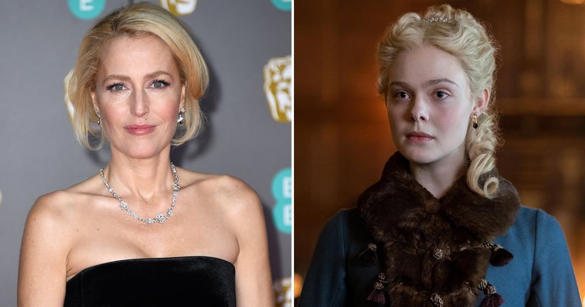 We're Eager to See Gillian Anderson and Elle Fanning's Mother-Daughter Duo on The Great