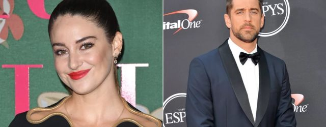 A Quick Timeline of Shailene Woodley and Aaron Rodgers's Whirlwind Romance