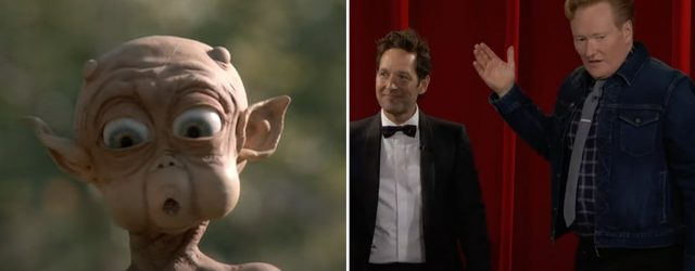 All the Times Paul Rudd Tested Conan O'Brien's Patience With the Iconic Mac and Me