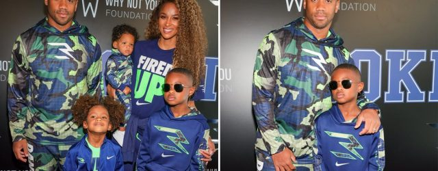 Family Night Out! Ciara and Russell Wilson Hit the Red Carpet With Their 3 Kids