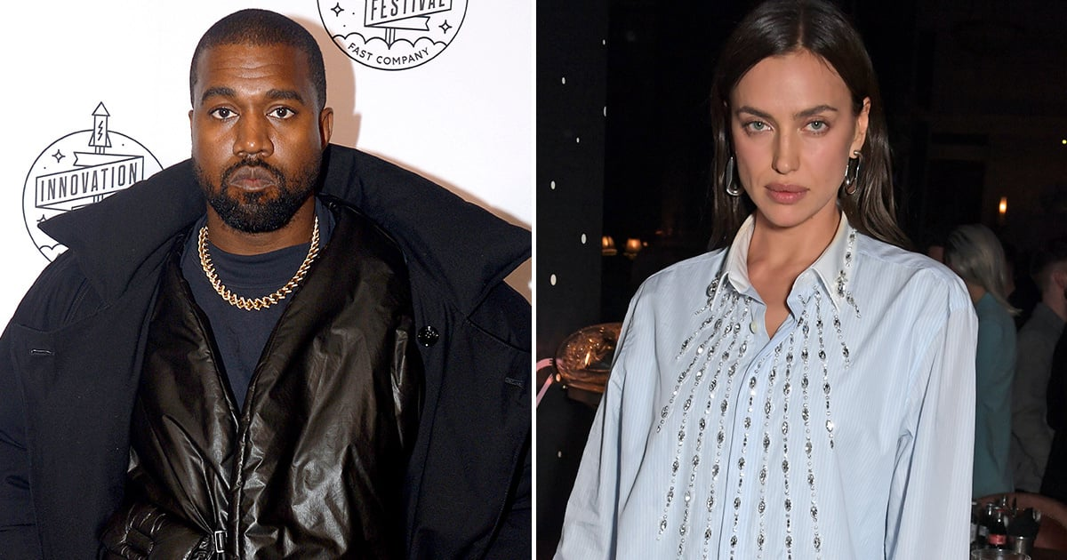 In This Week's Surprising Celeb Couple News: Kanye West and Irina Shayk Appear to Be Dating