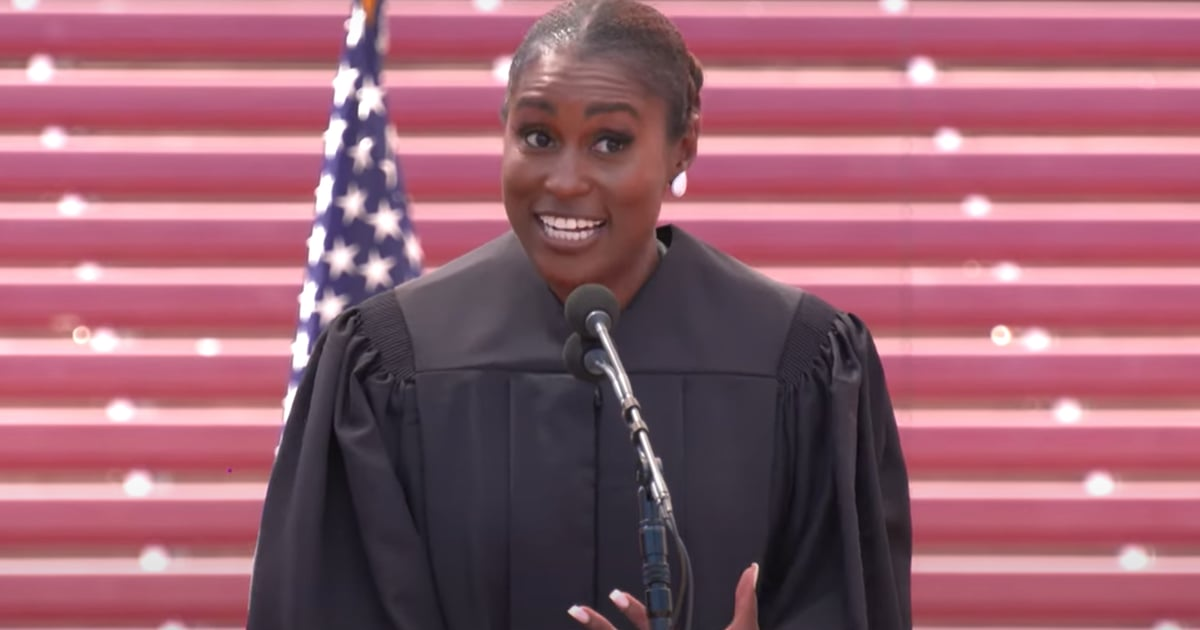 Issa Rae Cracks Jokes, Quotes Boosie, and Shares Advice in Must-Watch Commencement Speech