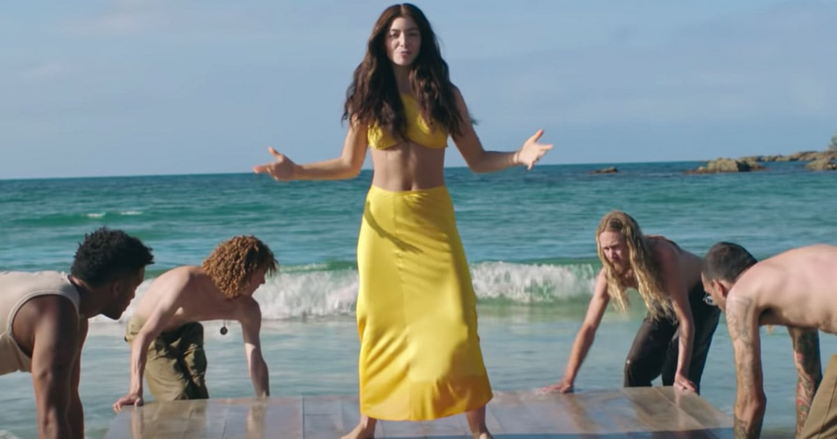 """Lorde Has Returned! Watch Her Laid-Back """"Solar Power"""" Music Video"""