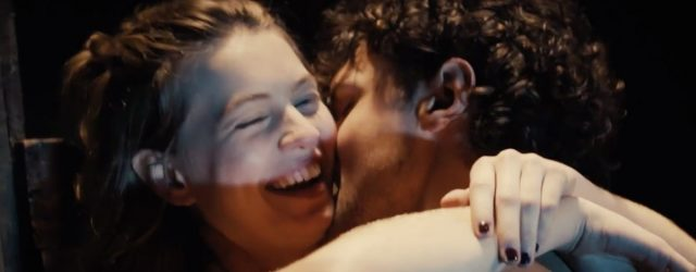 OK, But What Is Ray Nicholson Whispering to Olivia Welch in This Panic Blooper Reel?