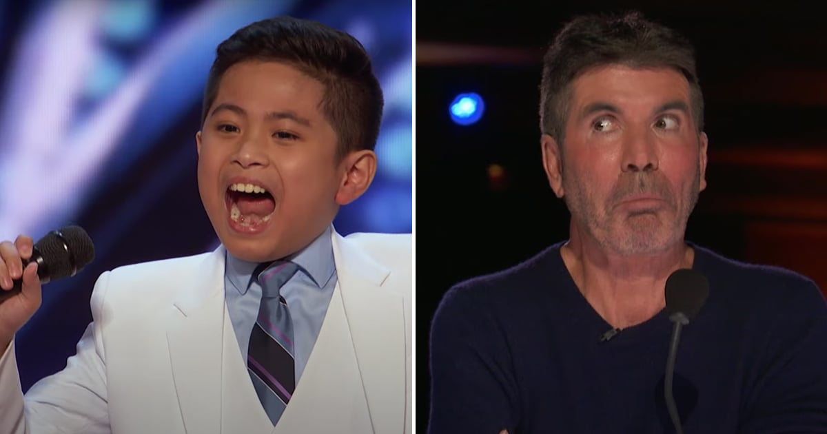 """Simon Cowell Got """"Goosebumps"""" After a 10-Year-Old Belted Celine Dion For His AGT Audition"""