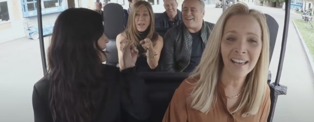 So No One Told Us the Cast of Friends Was Gonna Be This Way For Carpool Karaoke