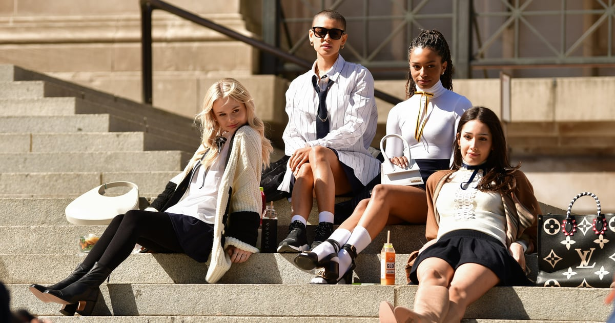 """Surprise, Surprise — Not All of the """"Teens"""" in the Gossip Girl Reboot Are Actually Teenagers"""