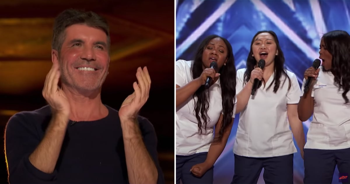 """This Nurse Choir Earned the AGT Golden Buzzer With a Moving """"Lean on Me"""" Performance"""