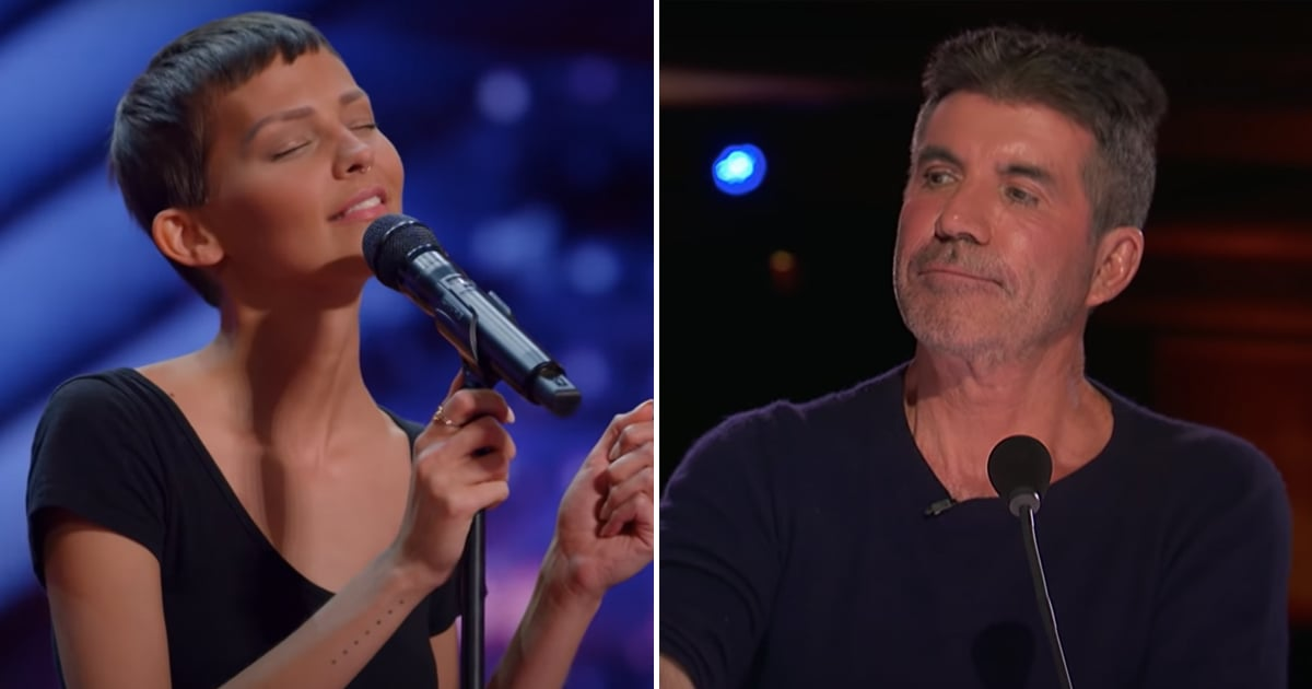 This Woman's Song About Her Cancer Journey Brought Simon Cowell to Tears, and Won His Golden Buzzer