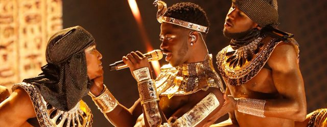 Yes, Lil Nas X Just Ended His BET Awards Performance With a Steamy Makeout