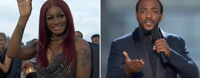"""Anthony Mackie Defends Sha'Carri Richardson at 2021 ESPYs: """"Weed Is a Dehancing Drug"""""""