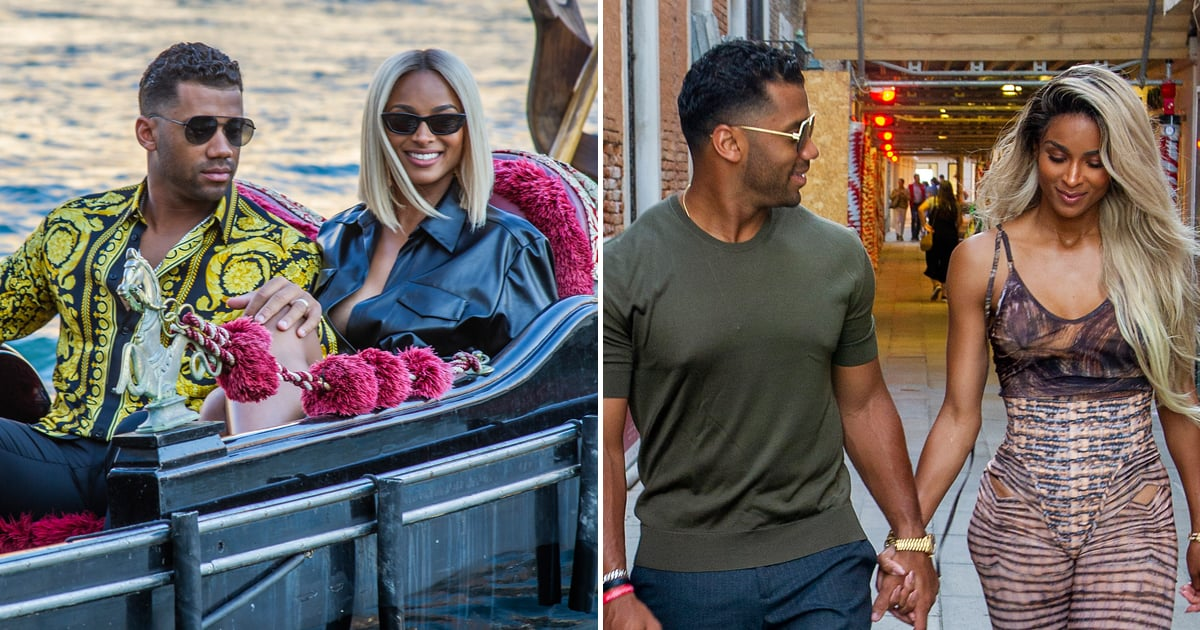 Ciara and Russell Wilson's Venice Vacation Is Setting a New Standard For Romantic Getaways