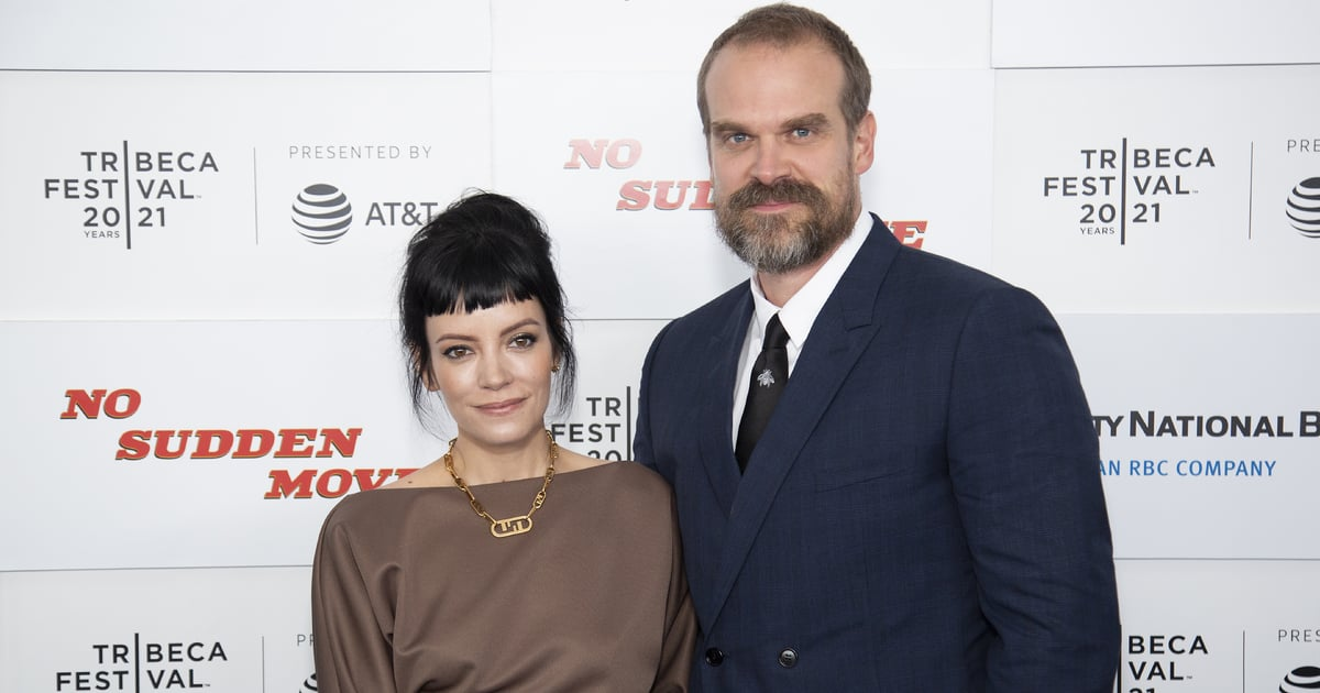 David Harbour's Quotes About Life With Lily Allen Filled My Heart With Warm Fuzzy Feelings