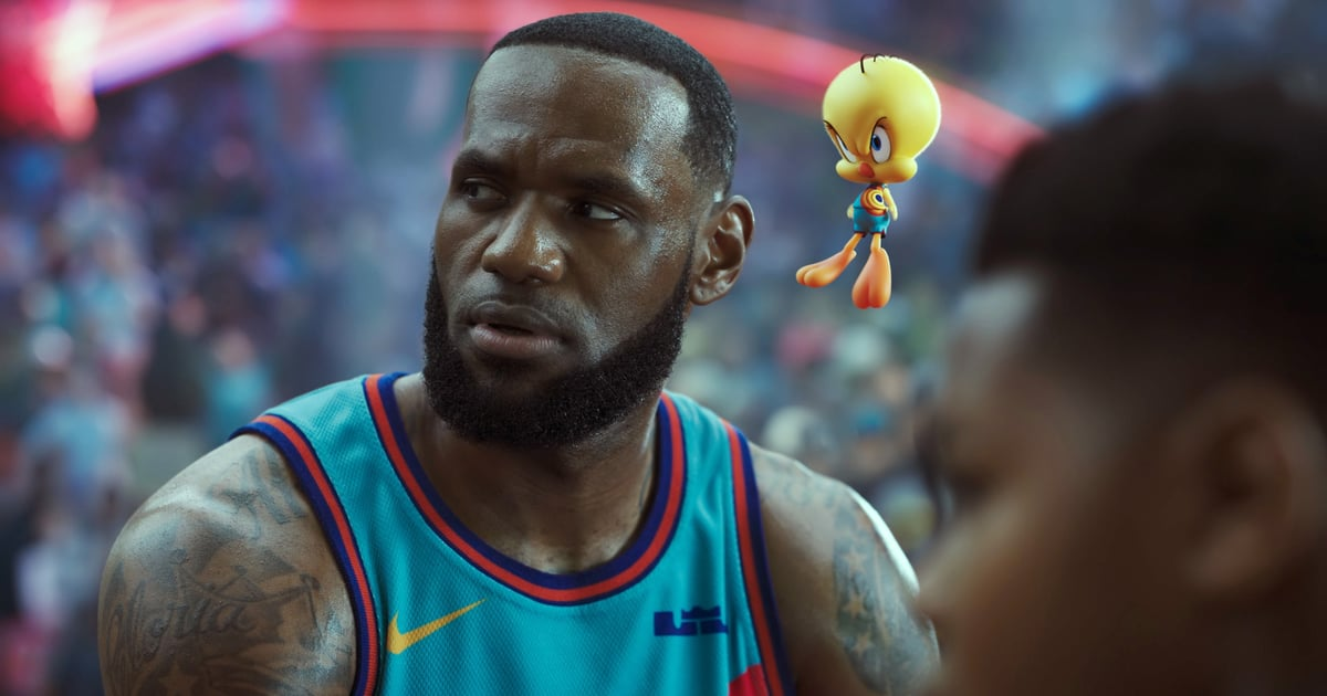 Is LeBron James's Real-Life Family in Space Jam: A New Legacy? Not Quite