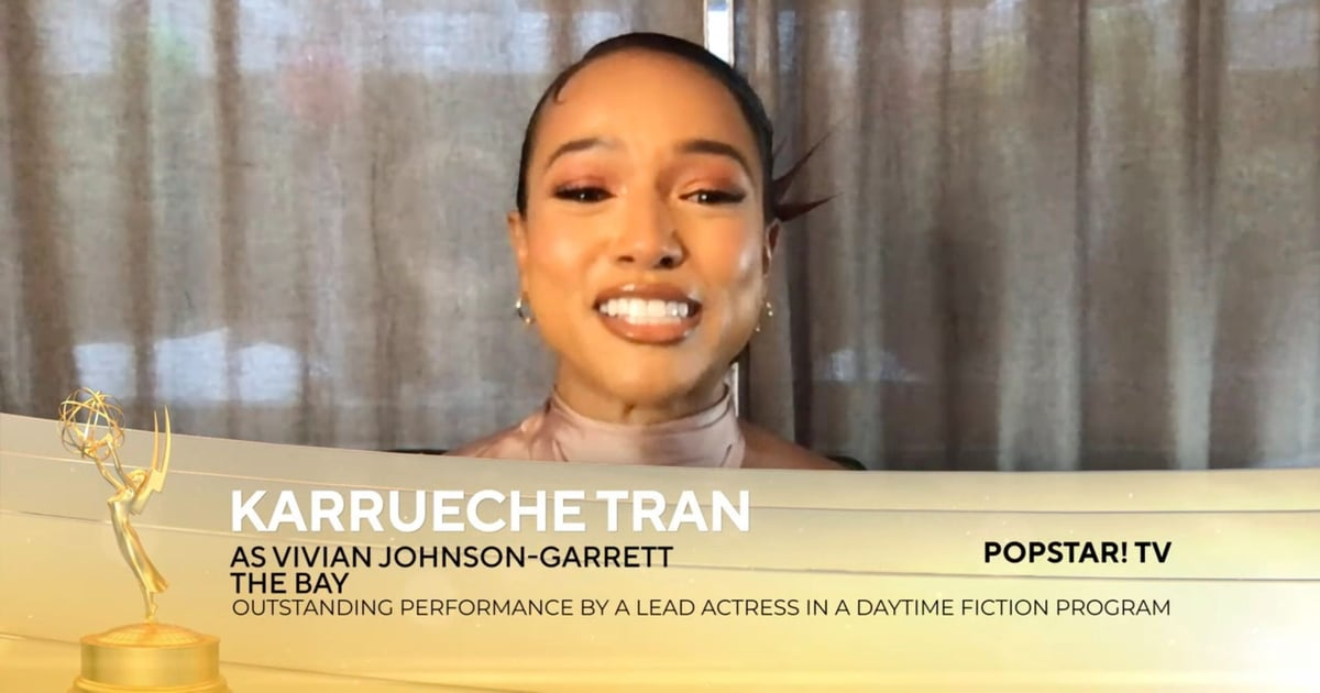 """Karrueche Tran Makes History With Her Daytime Emmy Win: """"I'm So Thankful"""""""