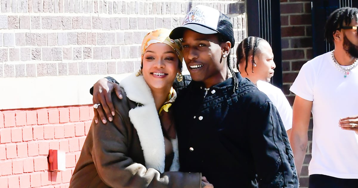 Rihanna and A$AP Rocky Have Love on the Brain, and These Photos Prove It