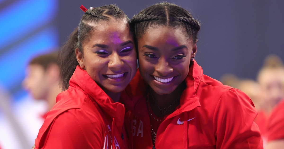 Simone Biles and Jordan Chiles Are Taking Their Adorable Friendship to Olympic Levels