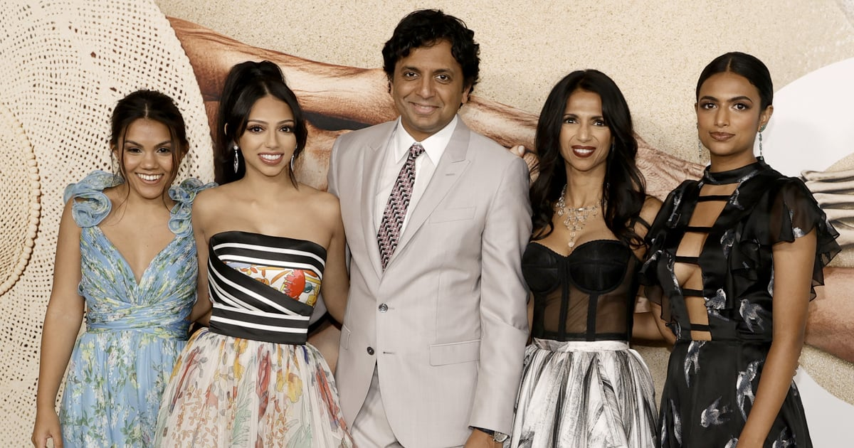 We Can't Get Over How Grown Up M. Night Shyamalan's Daughters Look at His Premiere
