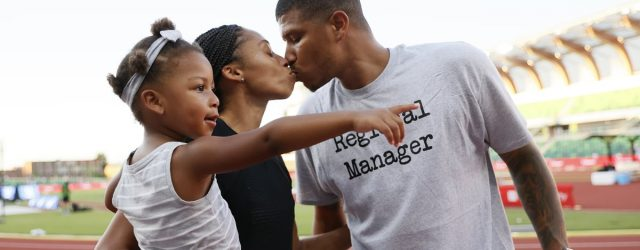 Allyson Felix Meeting Husband Kenneth Ferguson Nearly 20 Years Ago Is Peak Young Love