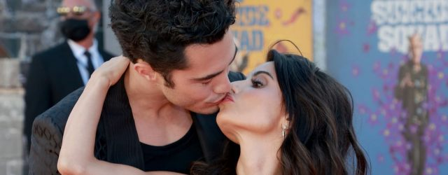 Darren Barnet Shares a Kiss With GF Mikaela Hoover as They Make Red Carpet Debut