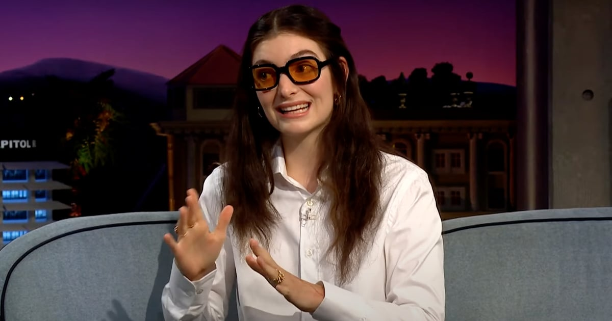 """Lorde Quit Social Media Because Her Brain """"Wasn't Working Very Well Anymore"""""""