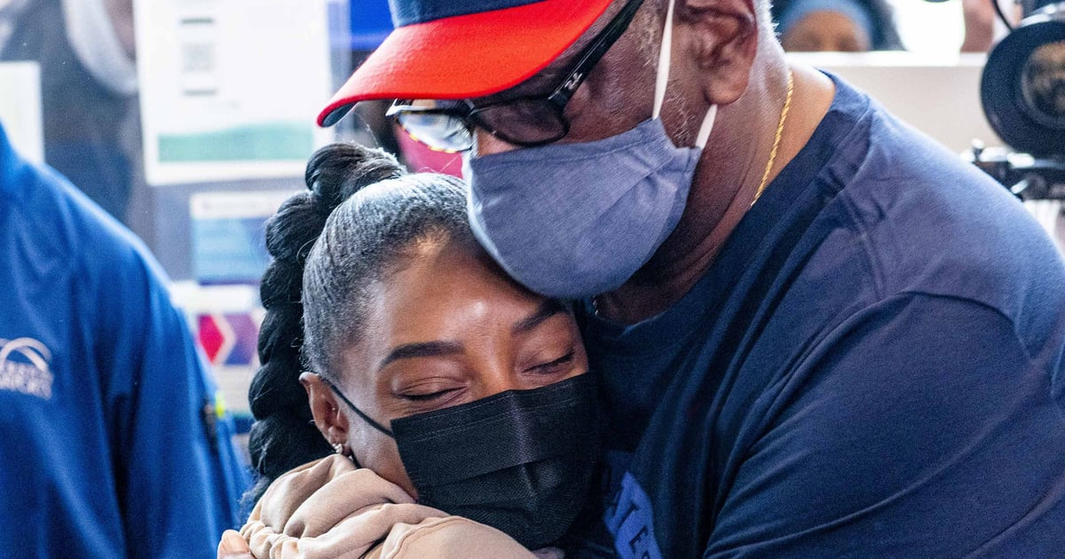 """No One Is Happier to Have Simone Biles Home Than Her Family: """"It Was Super Emotional"""""""