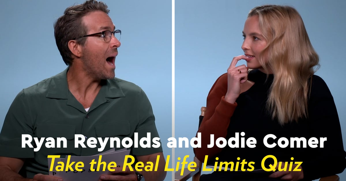Watch Ryan Reynolds and Jodie Comer Get Real as They Talk Limits