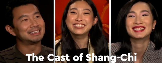 Awkwafina, Simu Liu, and the Shang-Chi Cast Reveal Their TikTok Domination Strategy